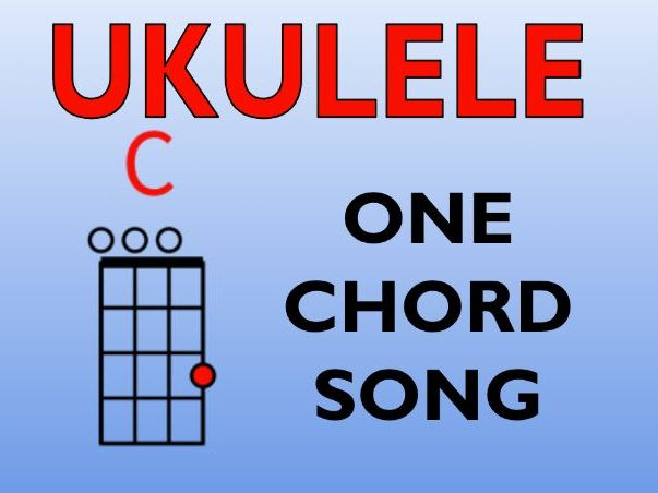 A sailor went to sea (Ukulele C Chord Song)