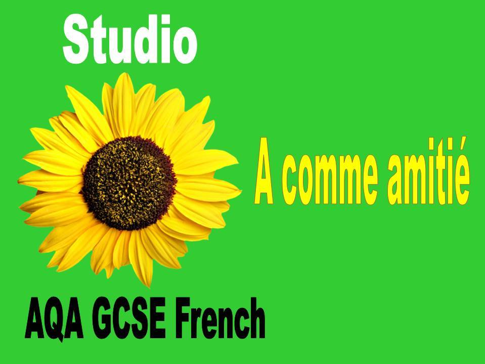 GCSE French     1.1 	Identity and culture: Relationships with friends