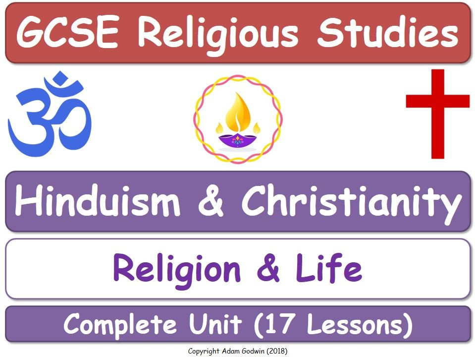 Hinduism & Christianity - Religion & Life (17 Lessons)