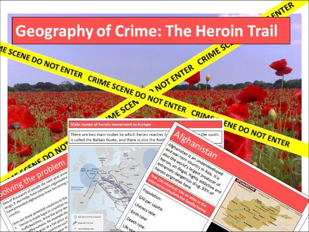 Geography of Crime- The Heroin Trail