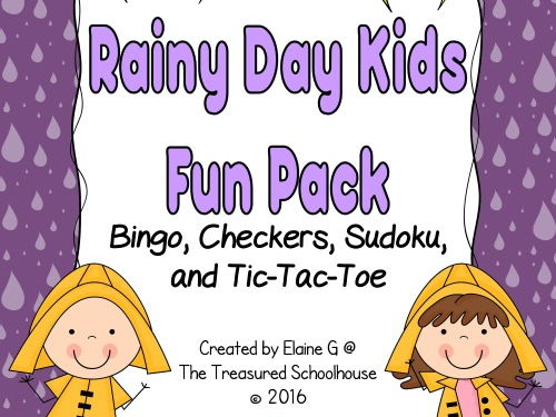 Rainy Day Kids Game Pack