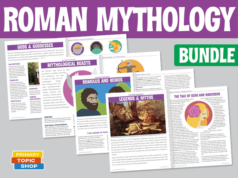 Ancient Roman Mythology Bundle