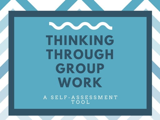 A self-reflection tool following group work