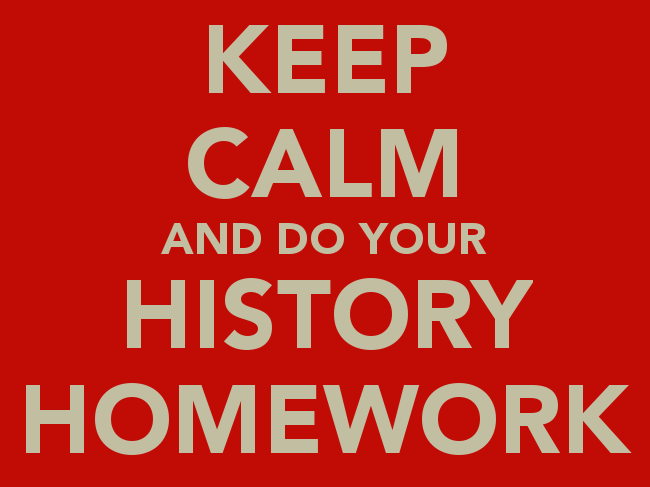 Year 7 History Homework Booklets