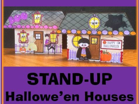 STAND-UP Hallowe'en Houses