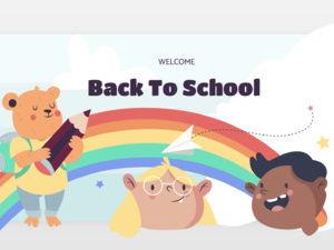 Back To School Editable PowerPoint   Meet The Teacher