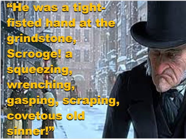 cover image - Christmas Carol Quotes
