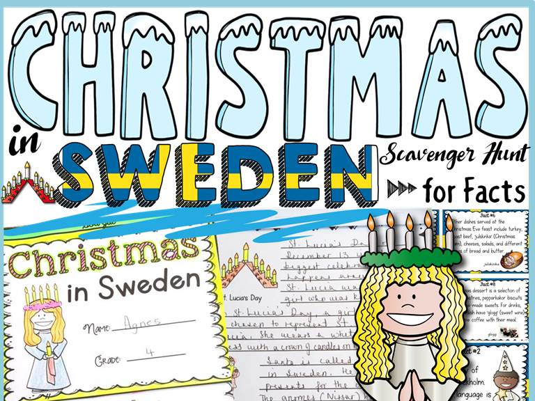 CHRISTMAS: CHRISTMAS AROUND THE WORLD: CHRISTMAS IN SWEDEN by ...