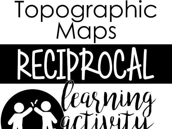 Topographic Maps Reciprocal Learning Activity