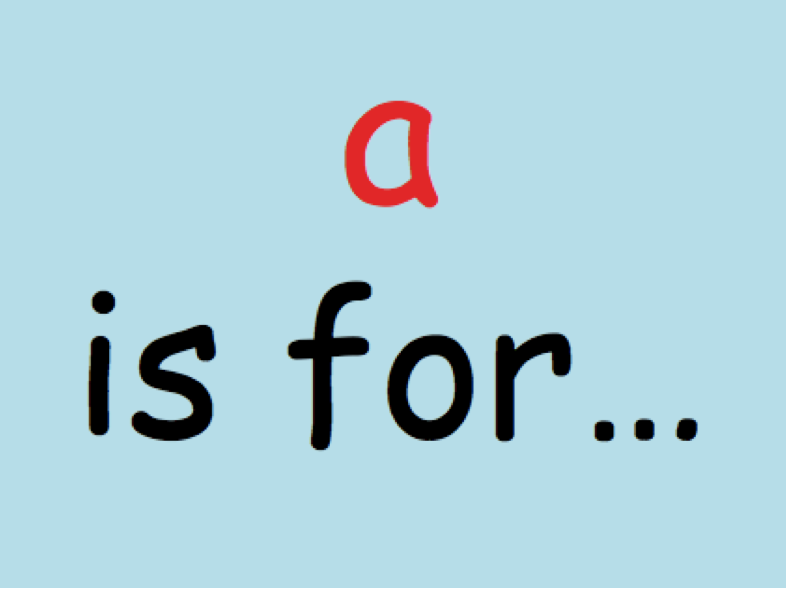 """a"" Phonics Powerpoint"