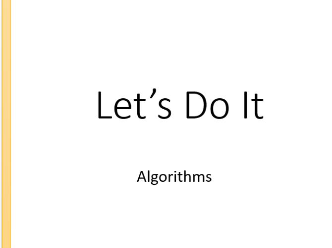 GCSE Computer Science 9-1 Algorithm resource