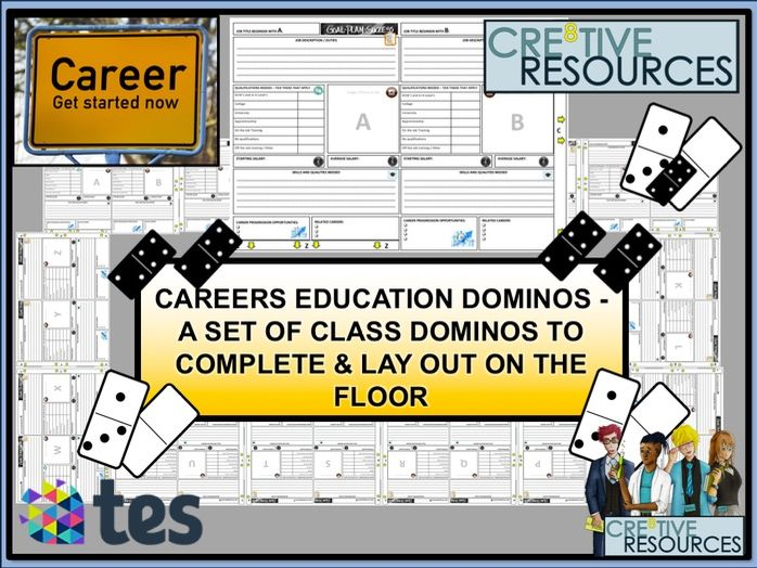 Careers Lesson Dominos