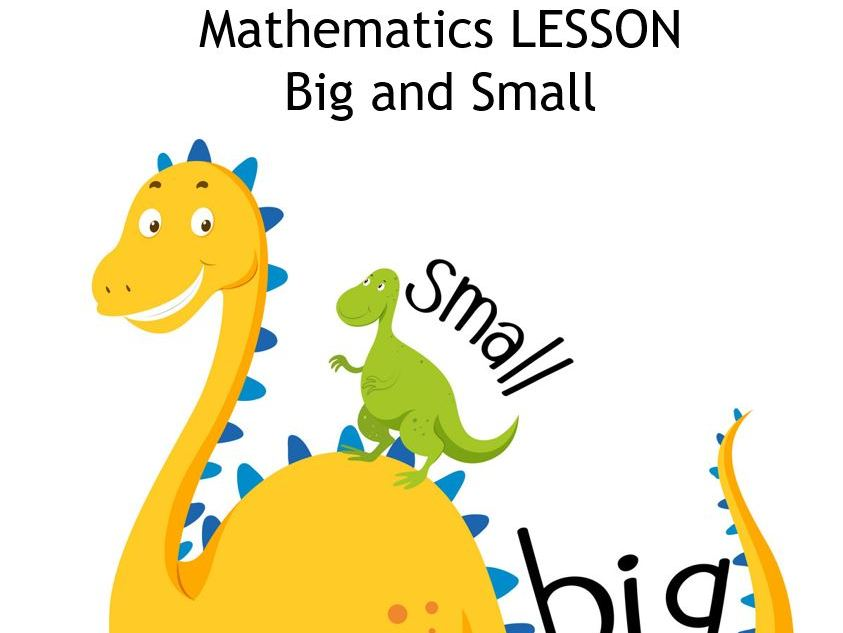 Big and Small Topic for kids PPT