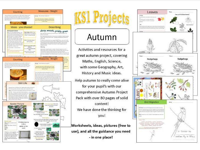 Autumn Project KS1