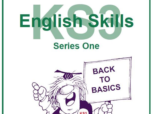 KS3 English Skills Series One Resource Pack