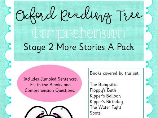 ORT - Oxford Reading Tree Stage 2 More Stories A Comprehension Pack