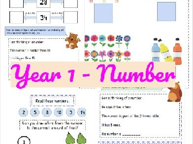 Year 1 Number Resources