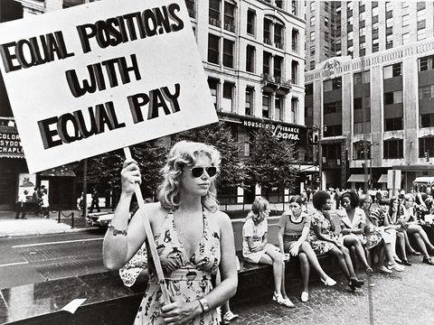 US Women's Lib 1950 - 1970 Revision Flash Cards / Dingbats