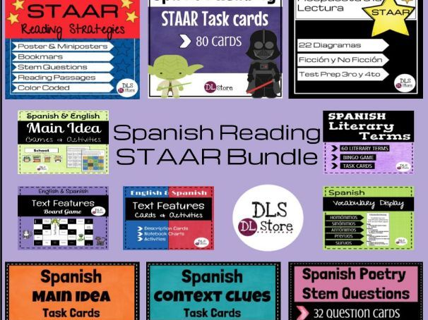 Spanish STAAR Reading Bundle