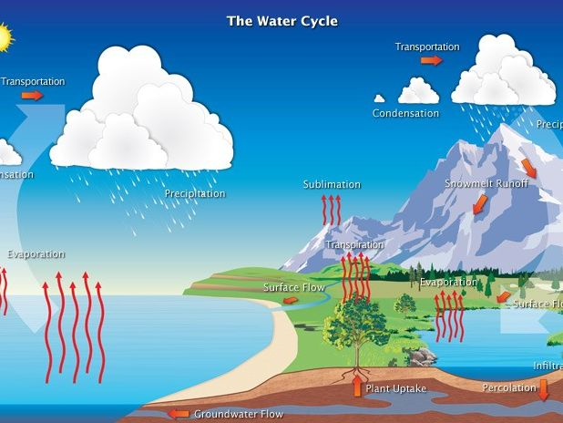 L1 – Water and Carbon Cycles, Systems in Physical Geography AQA A Level 2018