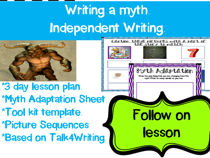 Myths: Independent Writing