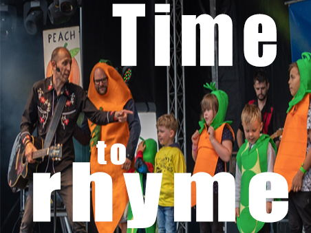 'Time to Rhyme' - Lively and interactive rhyming song