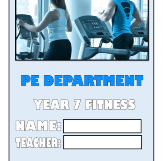 Year 7 Health and Fitness Booklet - 20 Pages
