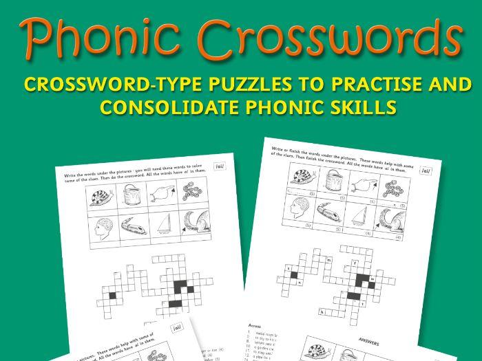 PHONIC CROSSWORDS