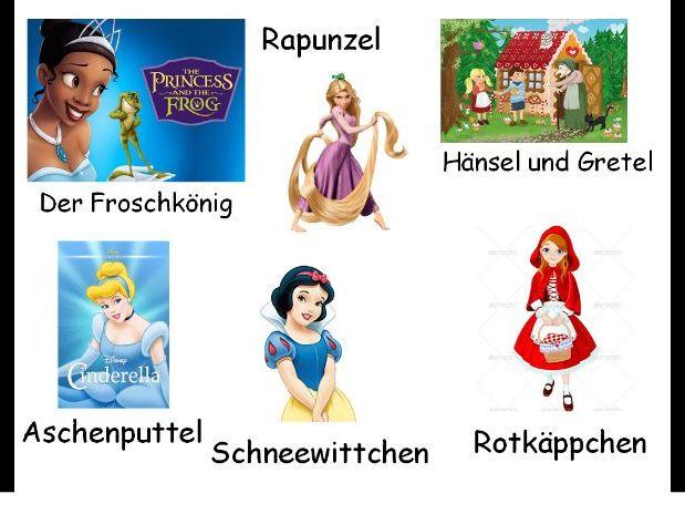 Märchen - The Brothers Grimm Aschenputtel