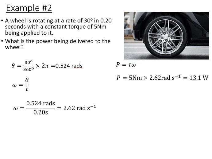 BTec Engineering - Energy in Rotational Mechanics (PowerPoint)