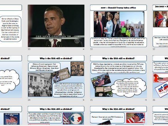 American Politics Historical Context
