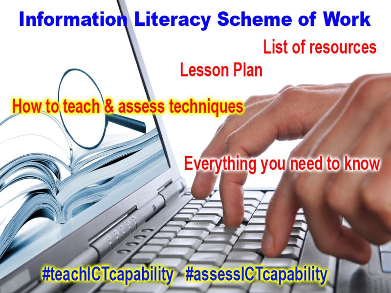 Scheme of Work: Information Literacy