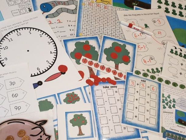 Reception Age 4-5 Home Learning Bumper Fun Learning Pack Parent Support
