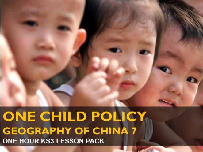 One Child Policy - Geography of China 7