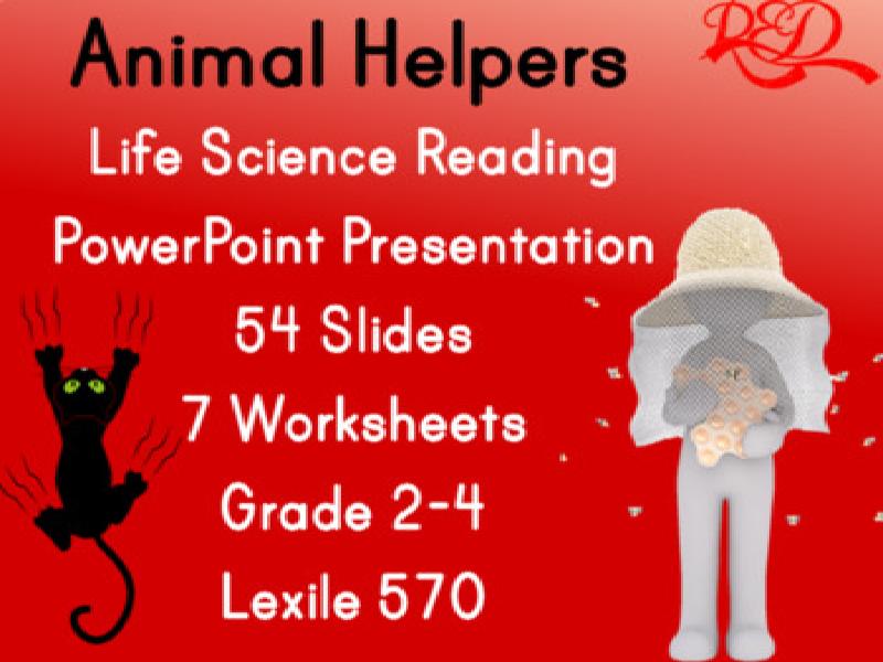 Animal Helpers Life Science Presentation