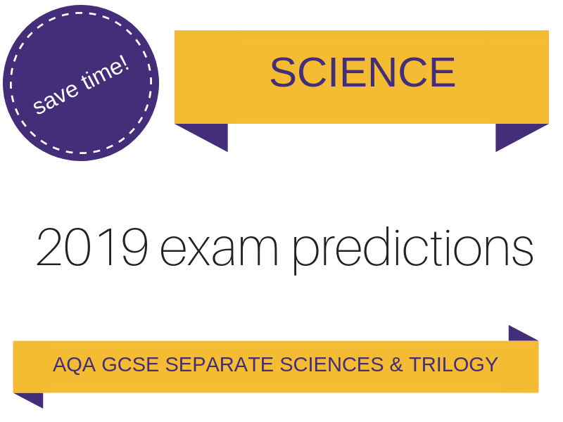 AQA GCSE Science 2019 predictions based on 2018 exam paper analysis