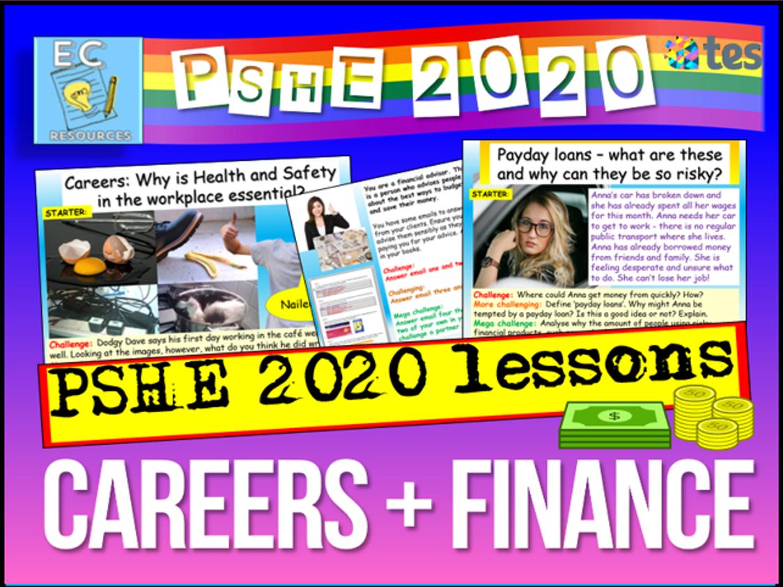 Careers + Finance
