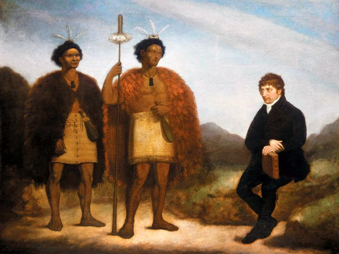 Early Aotearoa, New Zealand. Māori origins, British colonists, Land issues