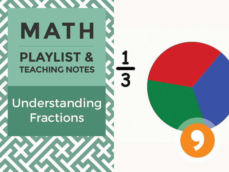 Understanding Fractions – Playlist and Teaching Notes