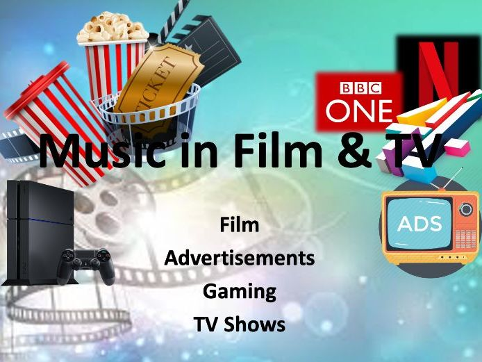 Music in Film, TV, Adverts & Gaming