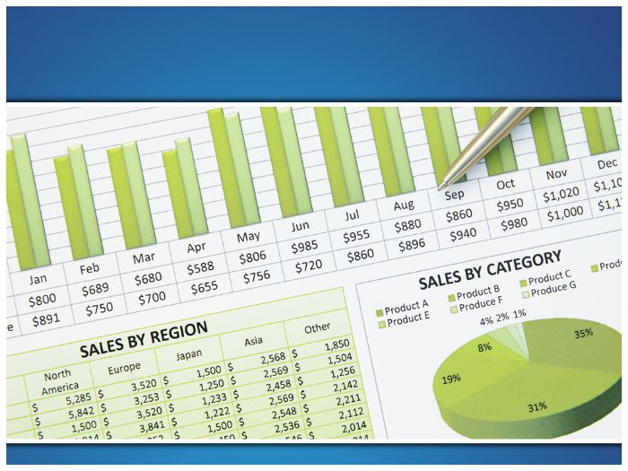 sales chart ppt template by templatesvision com teaching resources