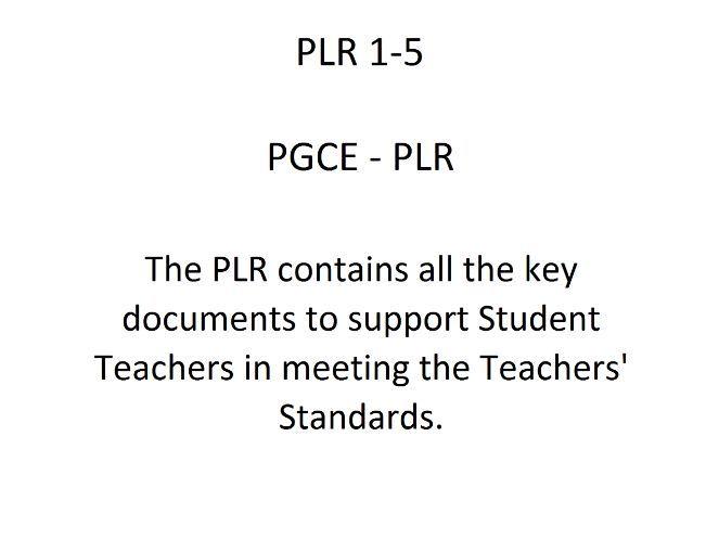 PLR 1 - 5