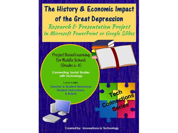 History & Economic Impact of the Great Depression - Research & Presentation Project