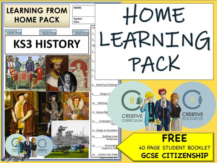 Covid-19 - Home Learning Pack - Coronavirus - HISTORY KS3