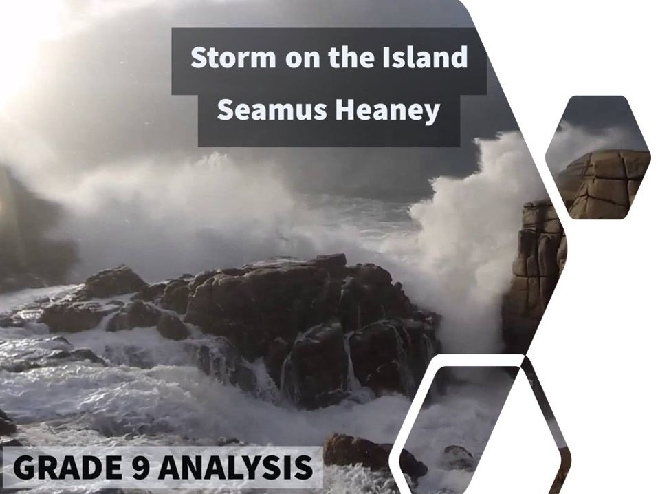 Storm on the Island – Grade 9 quotation analysis & model answers