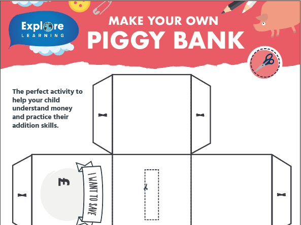 Free_Make your own piggy bank_Activity sheet