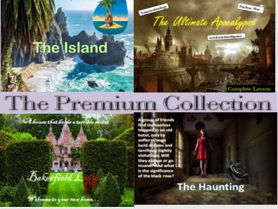 The Premium Collection – Exciting Fiction and  Complete Lessons
