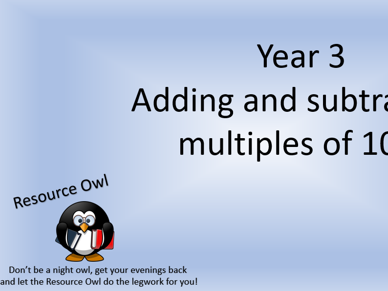 Adding and subtracting multiples of 100