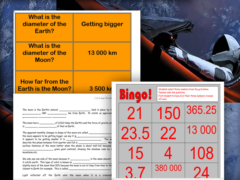 Astronomy - 5 fun lessons of Observing Space,  Moon, Eclipses, Physics of Space And Exploration