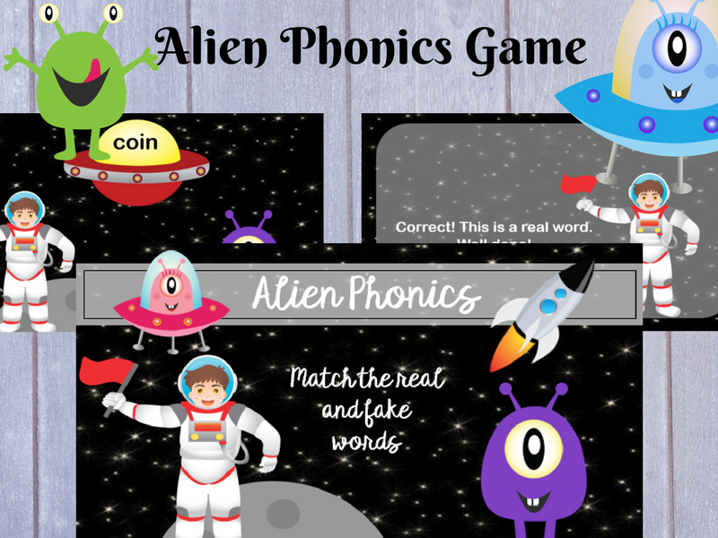 Alien Phonics: Phase 3